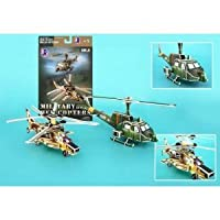 Daron Helicopter Gunships 3D Puzzle 66-Piece
