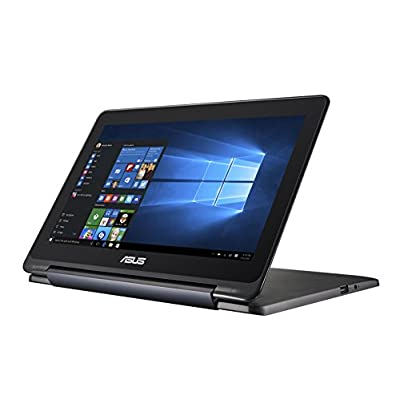 Asus Eeebook Flip E205SA-FV0114TS 11.6-inch Touchscreen Laptop (Celeron N3050/2GB/32GB/Windows 10/Intel HD), Dark...