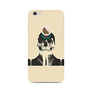 RAYITE Skull Target Premium Printed Mobile Back Case For Apple iPhone 6/6s with hole