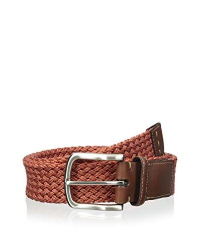 Torino Leather Co Men's Woven Linen Belt