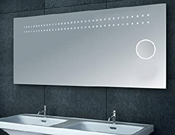 Miroir salle de bain led for Miroir in english