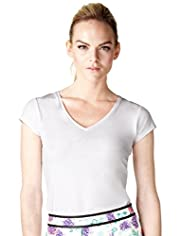 Limited Collection Cotton Rich V-Neck T-Shirt
