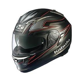 オージーケーカブト(OGK KABUTO) ヘルメット KAMUI FLUENTE (フルエンテ) フラットブラック L (59-60cm)