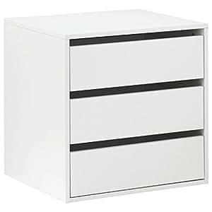 Cassettiera interna armadio 3 cassetti accessorio legno - Emporio del mobile in kit ...