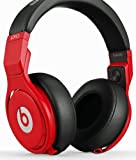 Beats by Dr. Dre Pro Lil Wayne Over Ear Headphones - Red/Black