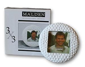 """Malden International Golf Ball Picture Frame - 3"""" X 3"""""""