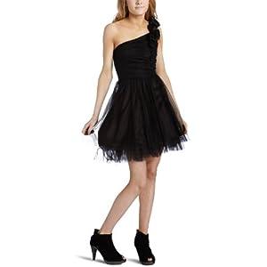 Amazon.com: XOXO Junior's Rosette One Strap Dress: Clothing from amazon.com
