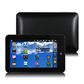 Eken M009s Google Android 2.2 7 Inch VIA 8650 800mhz 4gb Tablet Pc Black