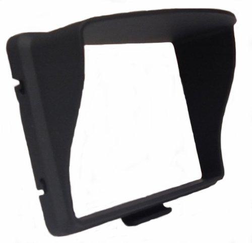 Unbekannt Sonnenblende/Blendschutz starr für GPS Navigationsgerät mit 4,3 Zoll (10,92cm) Display von TomTom, Garmin, Becker, Falk, usw.