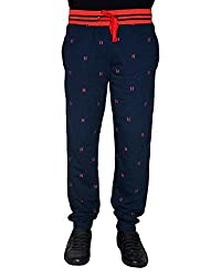 Crux and Hunter Men's Straight Track Pants [Navy] [Medium]