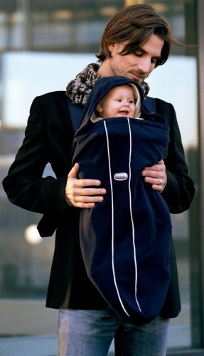 BABYBJÖRN Cover for Baby Carrier - City Black