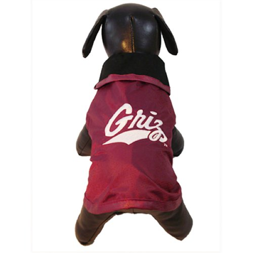NCAA Montana Grizzlies All Weather Resistant Protective Dog Outerwear, Tiny at Amazon.com
