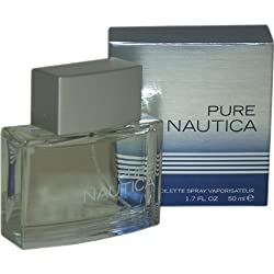 Nautica Pure men cologne by Nautica Eau De Toilette Spray 3.4 oz