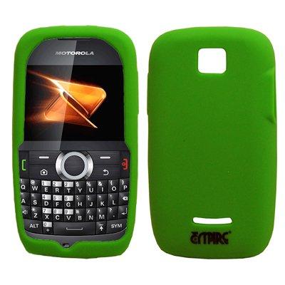 EMPIRE neongrün Silikon-Gel-Hülle Tasche für Boost Mobile Motorola Theory X430