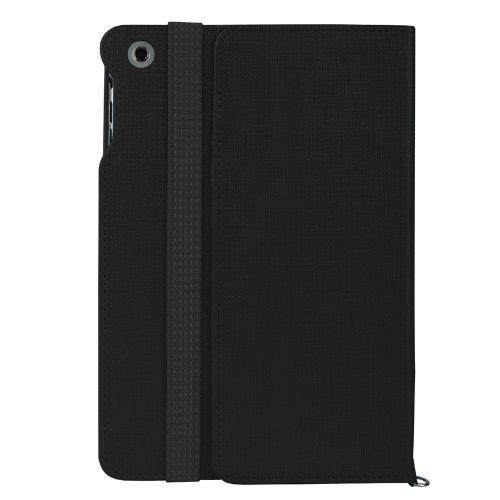 BASEUS Apple iPad mini Grace Leather Spin Case 【 アップル Softbank ソフトバンク au アイパッド ミニ 対応 グレース レザー スピン 回転 スマートフォン タブレット タブ ノート カバー ケース 】 Black ブラック 黒 GRAPMINI-SN01