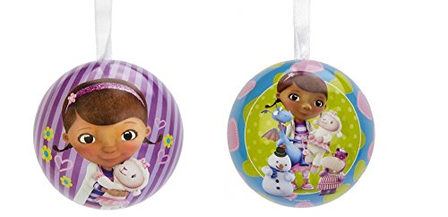 Hallmark Disney Junior Doc McStuffins Christmas Tree Tin Ball Ornament
