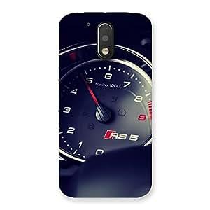 Ajay Enterprises Speedo True Multicolor Back Case Cover for Motorola Moto G4