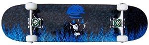 PRO Skateboard Complete KROWN Blue Flame 7.75 in from Krown