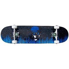 Buy PRO Skateboard Complete KROWN Blue Flame 7.75 in by Krown
