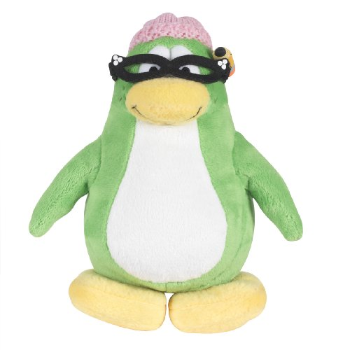 Buy Low Price Jakks Pacific Disney Club Penguin 6.5 Inch Series 3 Plush Figure Aunt Arctic (Includes Coin and Code) (B0028Y4HJ6)