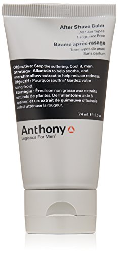 Anthony Logistics for Men Aftershave Balm, 2.5 fl. oz.