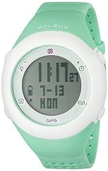 buy Soleus Unisex Sg012-345 Gps Fly Digital Display Quartz Green Watch