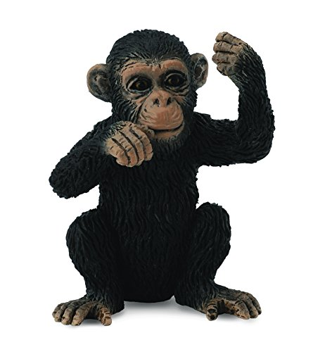 CollectA Chimpanzee Cub (Thinking) Figure