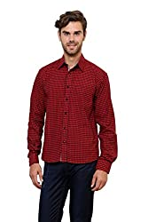 Lemon & Vodka Small Checked Shirt for Mens