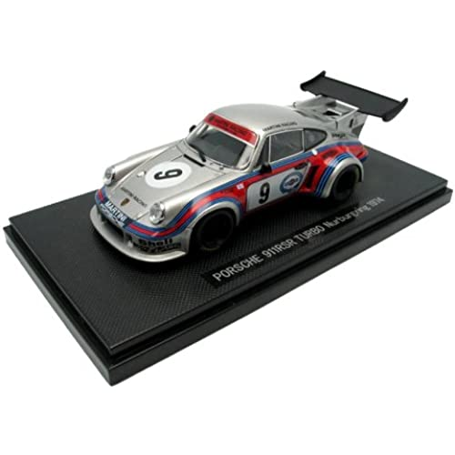 EBBRO 1/43 포르쉐 911 RSR 터보 #9 실버 44035