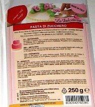Pasta de azúcar glas - Rojo - 250 g - 5215