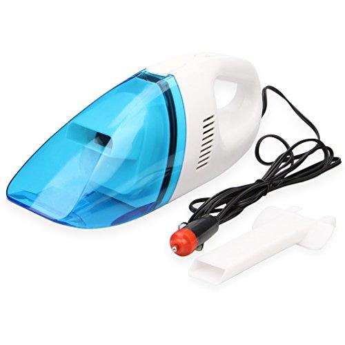 Yiizy 12V Aspirapolvere Auto Wet Dry [Polvere filtro lavabile] Handheld Hoover Palmare Vacuum Cleaner Mini Compatto portatile per Car (Blu)