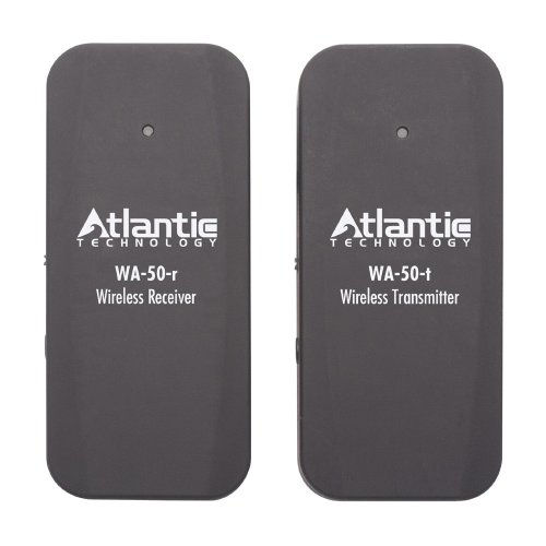 Atlantic Technology Wa-50-Sys Wireless Transmitter/Receiver System (Black)