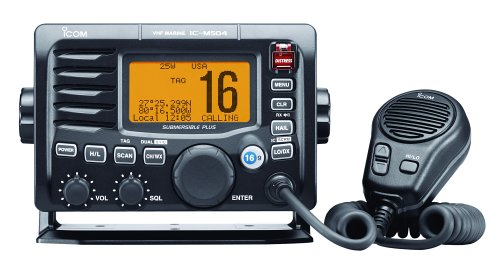 Icom IC-M504 Fixed-Mount Marine VHF Radio (Grey)