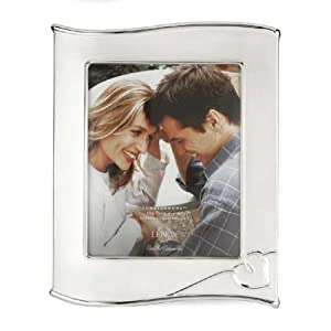 Lenox Forevermore Silver-Plated 8-Inch-by-10-Inch Picture Frame
