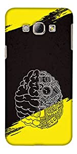 Print Haat Back Case Cover for Samsung Galaxy A8 (Multicolor)