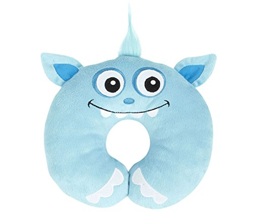 Nuby Monster Neck Support, Blue