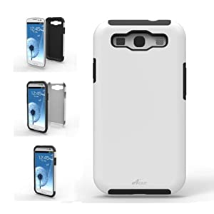 Acase Samsung Galaxy S3 case – Superleggera PRO Dual Layer Protection (White/Black)