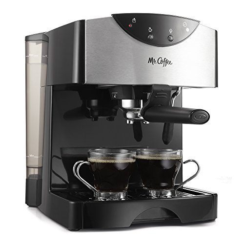 Mr. Coffee Automatic Dual Shot Espresso/Cappuccino System, ECMP50 (Cappucino And Espresso Maker compare prices)