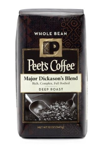 Peet's Whole Bean Coffee, Major Dickason's Blend, 12-Ounce (Coffee Beans Whole Foods compare prices)