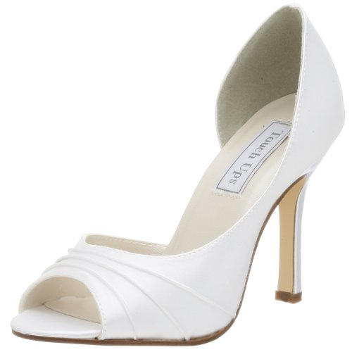 Touch Ups Women's Flash Dyeable Pump,White,9 M