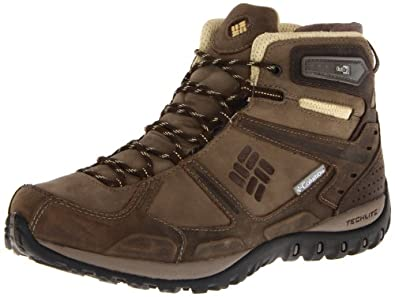 Columbia Women's Yama Mid Leather Outdry Hiking Shoe,Truffle/Cane,9.5 M US