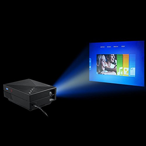 Fastfox ezapor wireless display mini projector gm60a wifi for Best wireless mini projector