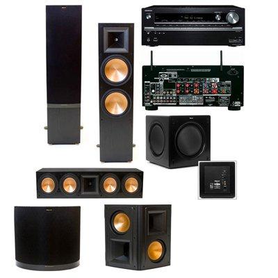 Klipsch Rf-7 Ii 5.1 Home Theater Systemr-Sw-310 (Black) Onkyo Tx-Nr838 7.2