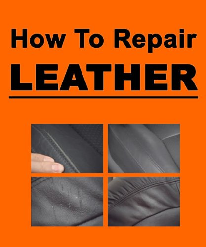 Leather Repair - How To Repair Minor Leather Damage