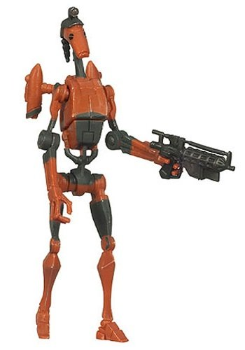 "Star Wars The Clone Wars Animated 3 3/4"" Rocket Battle Droid Action Figure"
