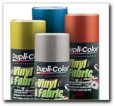 Dupli-Color HVP107 Deep Red High Performance Vinyl and Fabric Spray - 11 oz.