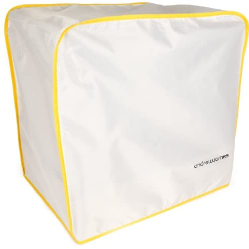Food Mixer Dust Cover White - Suitable for all All Kenwood Chef and Andrew James Food Mixers
