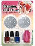 Konad Stamping Nail Art Kit Set C