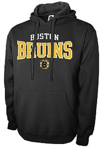 NHL Boston Bruins Pullover Hood, Black, Large