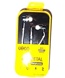 UBON metelic ZIP system earphone High Quality Bass